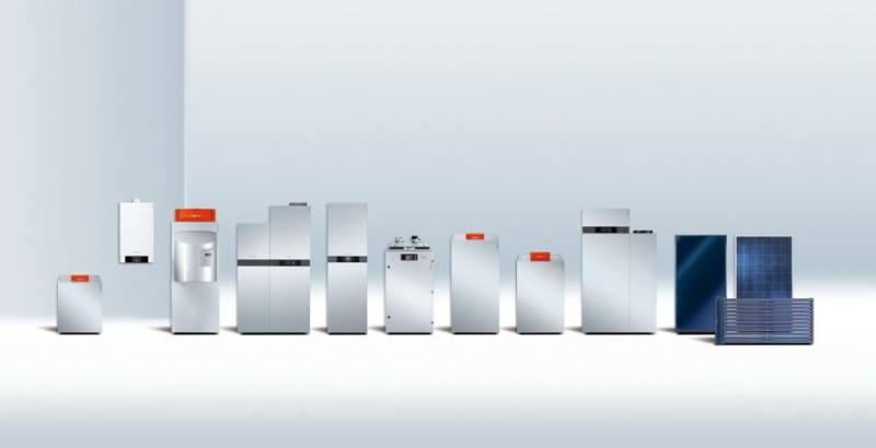 Современные напольные газовые котлы Viessmann